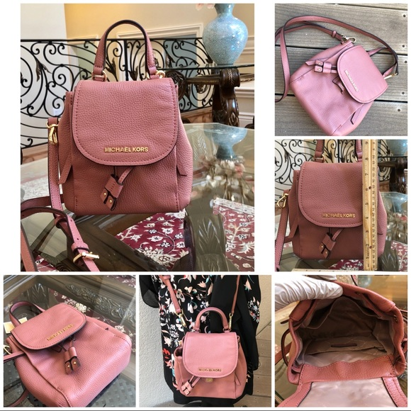 83737dd297dad Michael Kors mini Riley backpack in rose